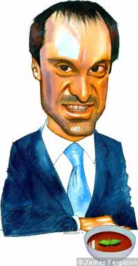 Illustration of Jeff Skoll