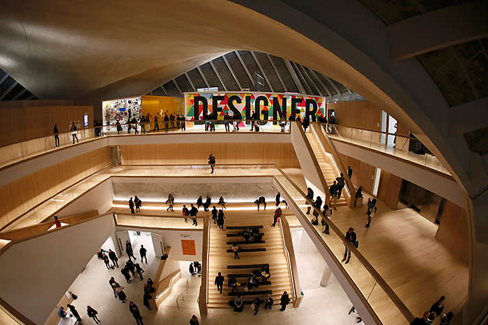 The Design Museum, in the former Commonwealth Institute in Kensington