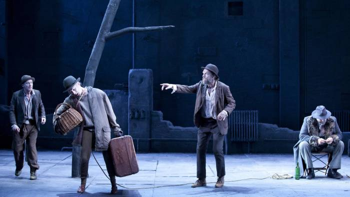 a review of the play waiting for godot
