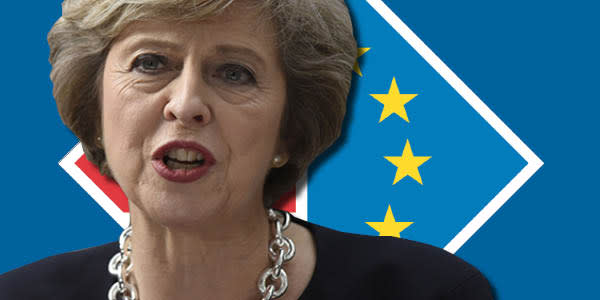 Theresa May: the prime minister says 'Brexit means Brexit' but she will battle to reconcile her colleagues' competing demands, particularly on the status of the City of London and restrictions on migration