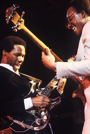 Nile Rodgers and Bernard Edwards of Chic; 1979