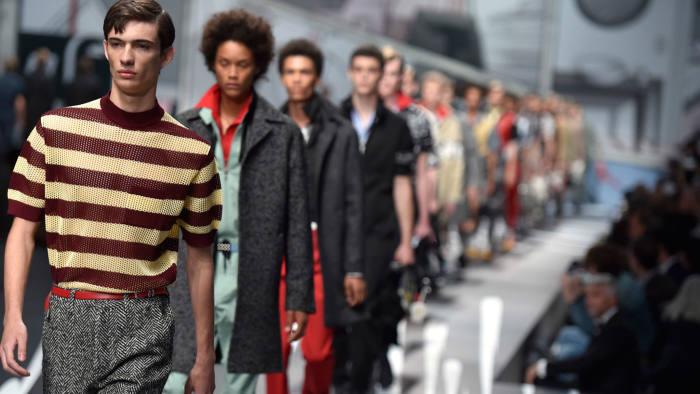 620a496e3e09 A jolt of fashion in Milan from Prada