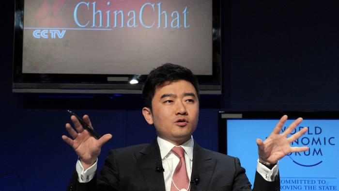 Director and anchor of China Central Televison (CCTV) Rui Chenggang