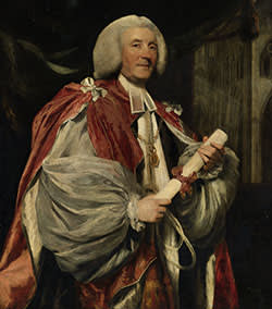 'Portrait of Dr John Thomas' (c1782), by Sir Joshua Reynolds