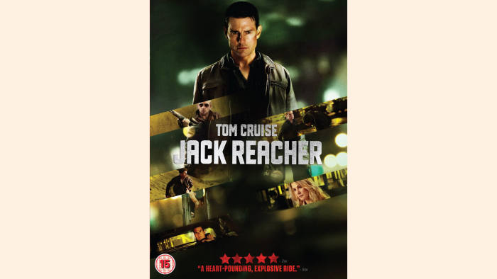 DVD cover of Jack Reacher