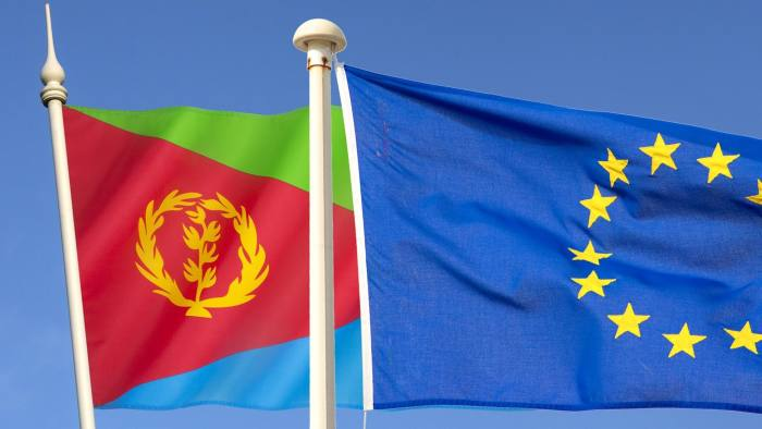 eritrean and euro flag