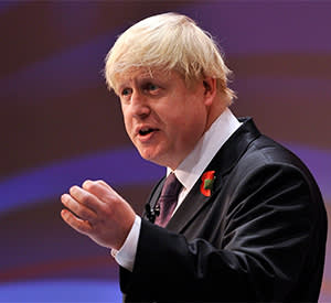 Boris Johnson, the mayor of London, who has asserted that the war was 'overwhelmingly the result of German expansionism and aggression'