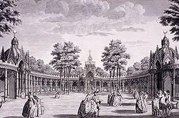 Vauxhall Pleasure Gardens, 1751