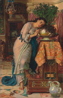 Holman Hunt's 'Isabella'