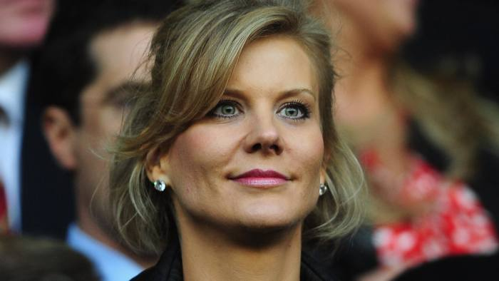 UEFA Champions League Semi Final: Liverpool v Chelsea...LIVERPOOL, UNITED KINGDOM - APRIL 22: Chief Negotiator of Dubai International Capital Amanda Staveley looks on prior to the UEFA Champions League Semi Final, first leg match between Liverpool and Chelsea at Anfield on April 22, 2008 in Liverpool, England. (Photo by Shaun Botterill/Getty Images)