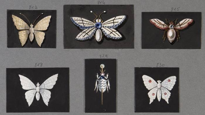 Etudes d'insectes, 1890 Chaumet Museum and Archives, Paris