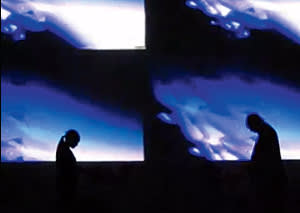 A Dopplereffekt gig at the Brussels Electronic Music Festival, 2009