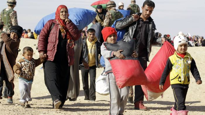 Jordan seeks international aid in deal over Syrian refugees   Financial  Times