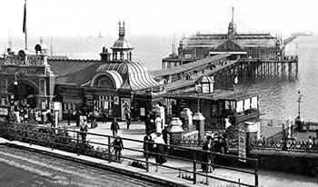Southend Pier, Essex, c.1900