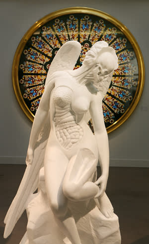 'Anatomy of an Angel' (2008) by Damien Hirst