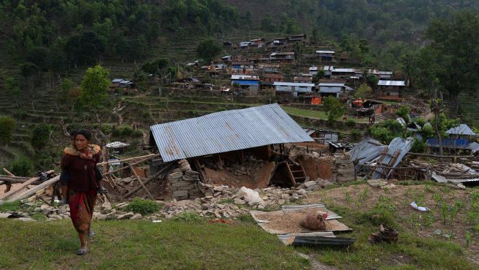 Nepal earthquake: Relief effort begins in Gorkha district