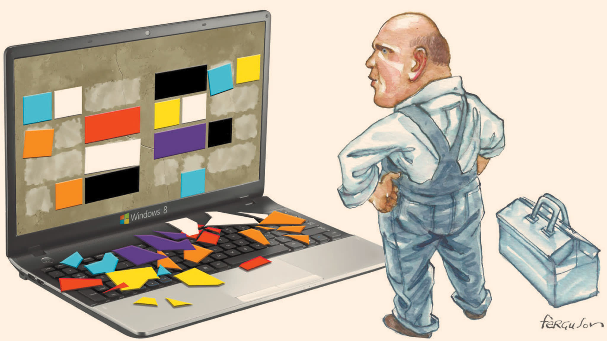 Microsoft has just blown its oldest trick | Financial Times
