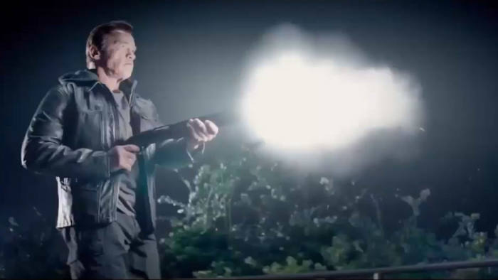 Arnold Schwarzenegger in 'Terminator Genisys' (to be released 2015)