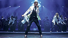 Justin Timberlake performs at the Barclays Center in New York, Nov. 6, 2013