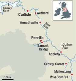 Eden Valley map