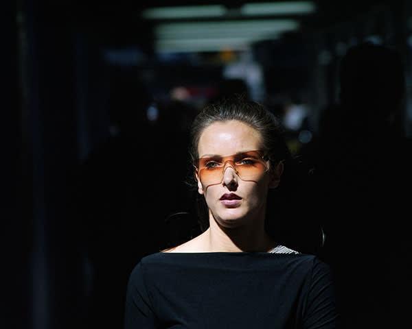 Philip-Lorca Dicorcia's 'Head #24'. New York, US, 2001
