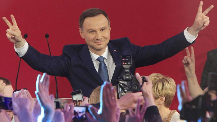 Duda Presidential Victory Stuns Poland Financial Times