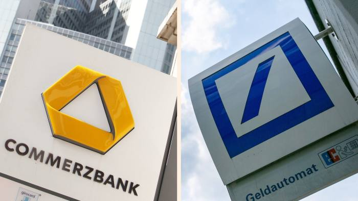 Commerzbank and Deutsche Bank's shares have tumbled in the wake of the stress tests