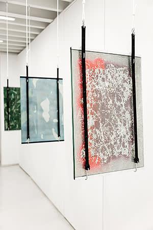 Tomás Díaz Cedeño's 'From the Texture to the Result' show in 2014 at La Compañía de Acción Cultural, Mexico City