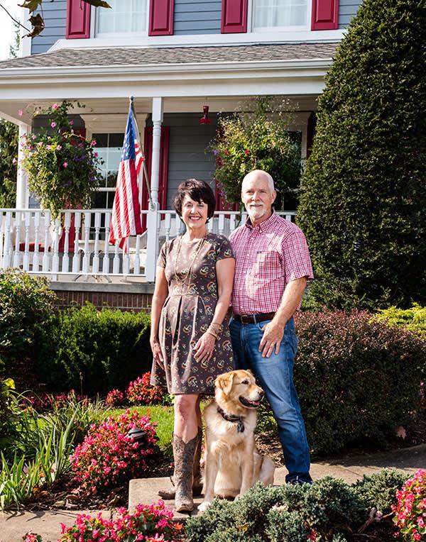 Laura and Gary Schisler, Pittsburgh