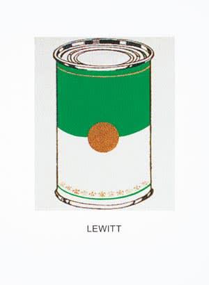 John Baldessari's 'Double Vision: Lewitt (Green)'