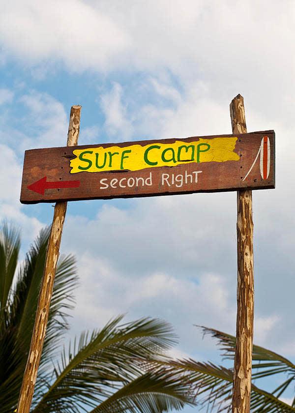Surf Camp in El Paredon
