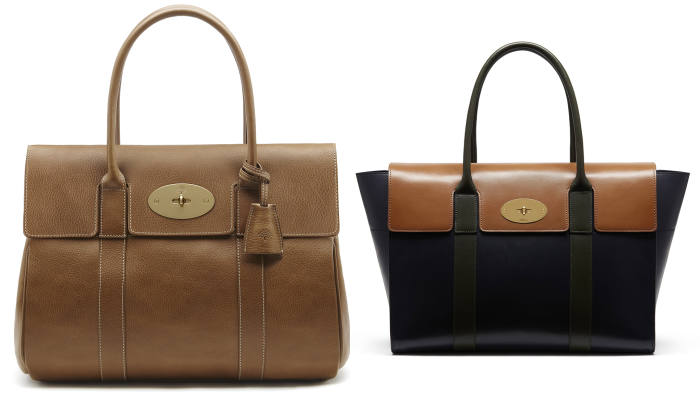 ffbb1c3fdc The 2003 Bayswater bag (left) and its 2016 design
