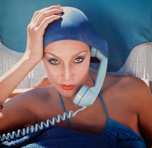Jerry Hall for Vogue, Jamaica, 1975