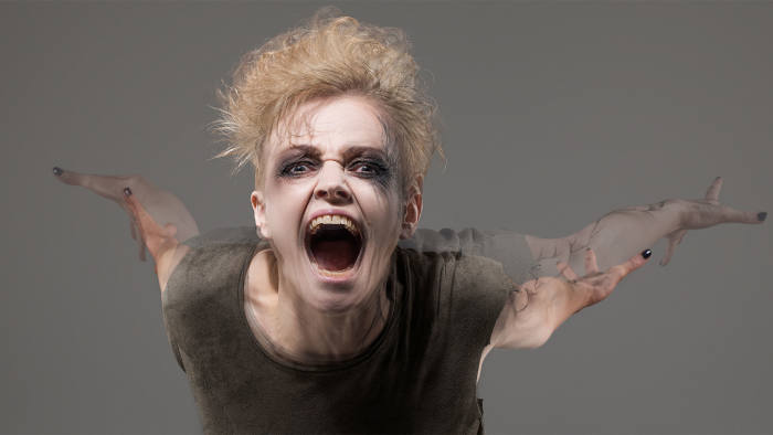 Maxine Peake in 'The Skriker'