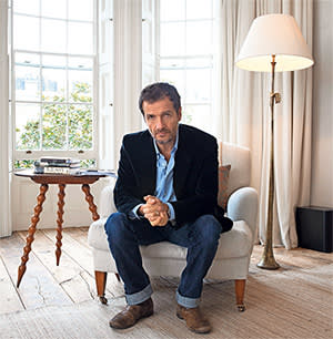 David Heyman in his house in central London