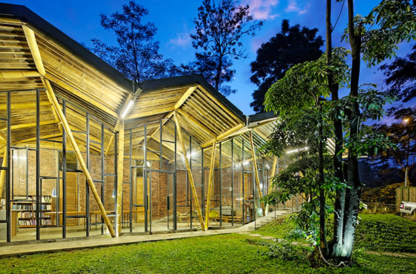Dancing Mountain House in Java by Budi Pradono Architects