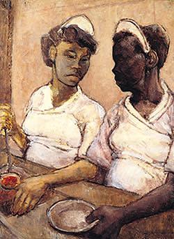 Eva Frankfurther's 'West Indian Waitresses' (c1955)