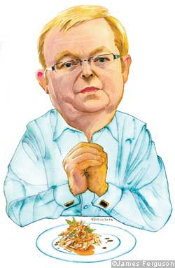 Illustration of Kevin Rudd
