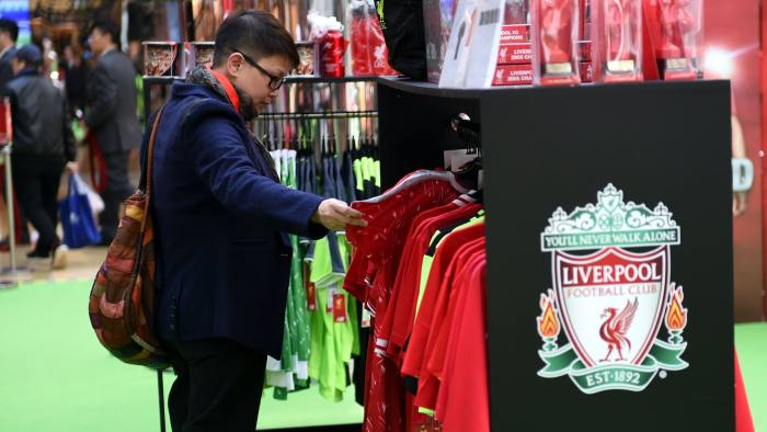 5ee5a02640e Liverpool FC tackles China fakes with cut-price football shirts ...