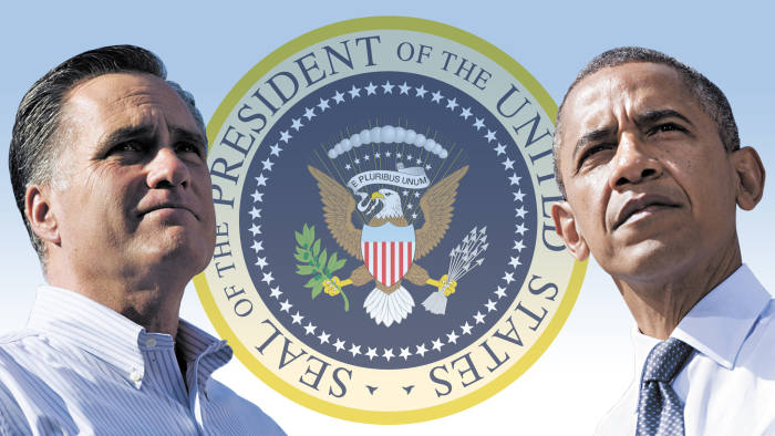 Obama and Romney pfeatures