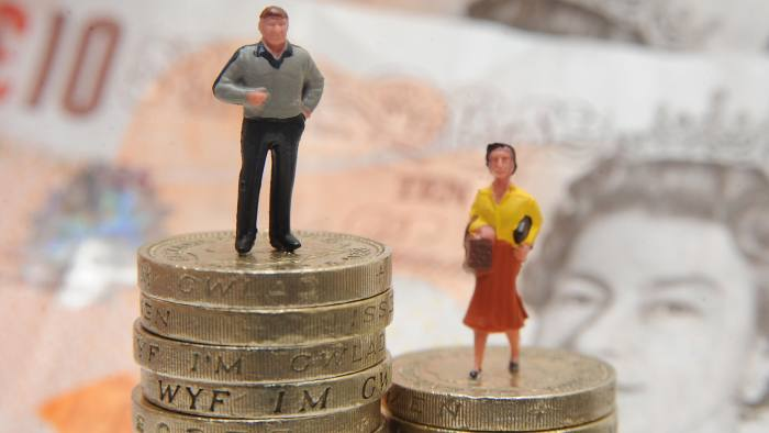 File photo dated 27/01/15 of plastic models of a man and woman standing on a pile of coins and bank notes. Men are significantly more likely than women to try to evade paying tax, researchers say. PRESS ASSOCIATION Photo. Issue date: Saturday December 23, 2017. A study of almost 1,500 people in the US, UK, Sweden and Italy found men under-report their income, while women are more honest. See PA story SOCIAL Tax. Photo credit should read: Joe Giddens/PA Wire