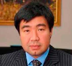 Sanzhar Yelyubayev, CEO of KTZ Express