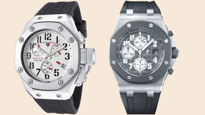The Swiss Legend and Audemars Piguet watches