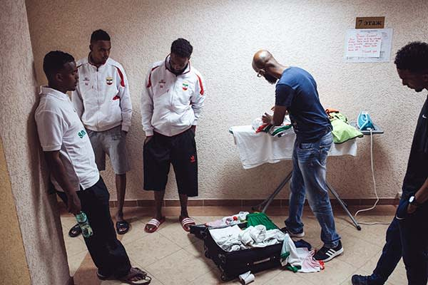 Somaliland Team at the World Cup of Unrecognized States 2016