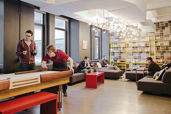 WeWork shared office space in Manhattan