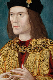 A portrait of King Richard III