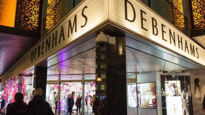 Debenhams' profit hit by falling clothes sales | Financial Times