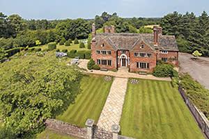 Blackden Manor, Cheshire, UK