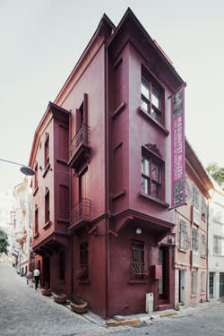 The exterior of The Museum of Innocence, Istanbul
