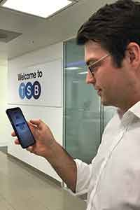 TSB's new face recognition app
